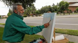 Local Artist Paints Church