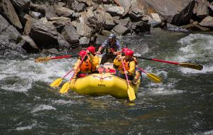 Rafting the Merced